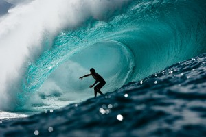 Pro surfer Kiron Jabour - photo taken by shark attack survivor Mike Coots. Creative Commons license from fotopedia.com